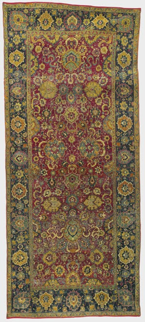 Arquitectura de casas historia de alfombras y tapices for Alfombras persas historia