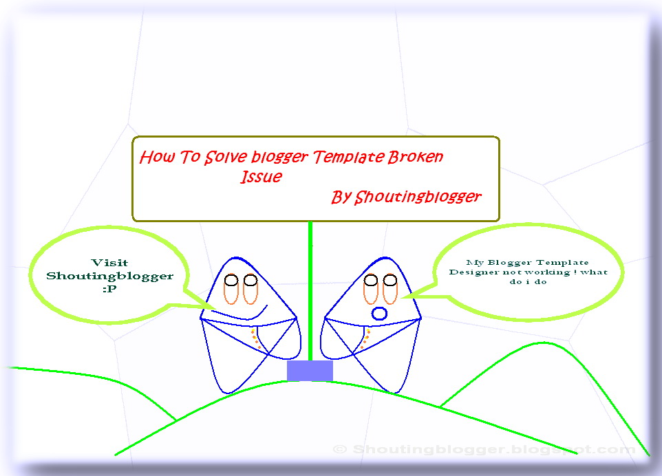 How to solve Blogger Template Designer problem and Editing html ...