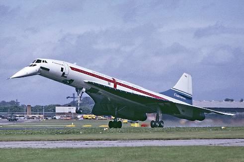 jet supersonic concorde