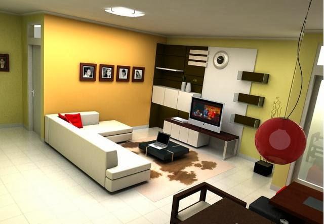 gambar desain interior ruang tamu 2014 model rumah