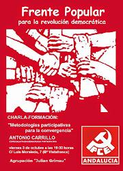 """Charla-formación: Metodología participativa para la convergencia"""""""