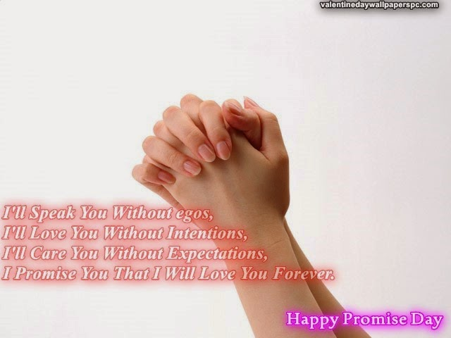 Happy Promise Day HD Wallpapers