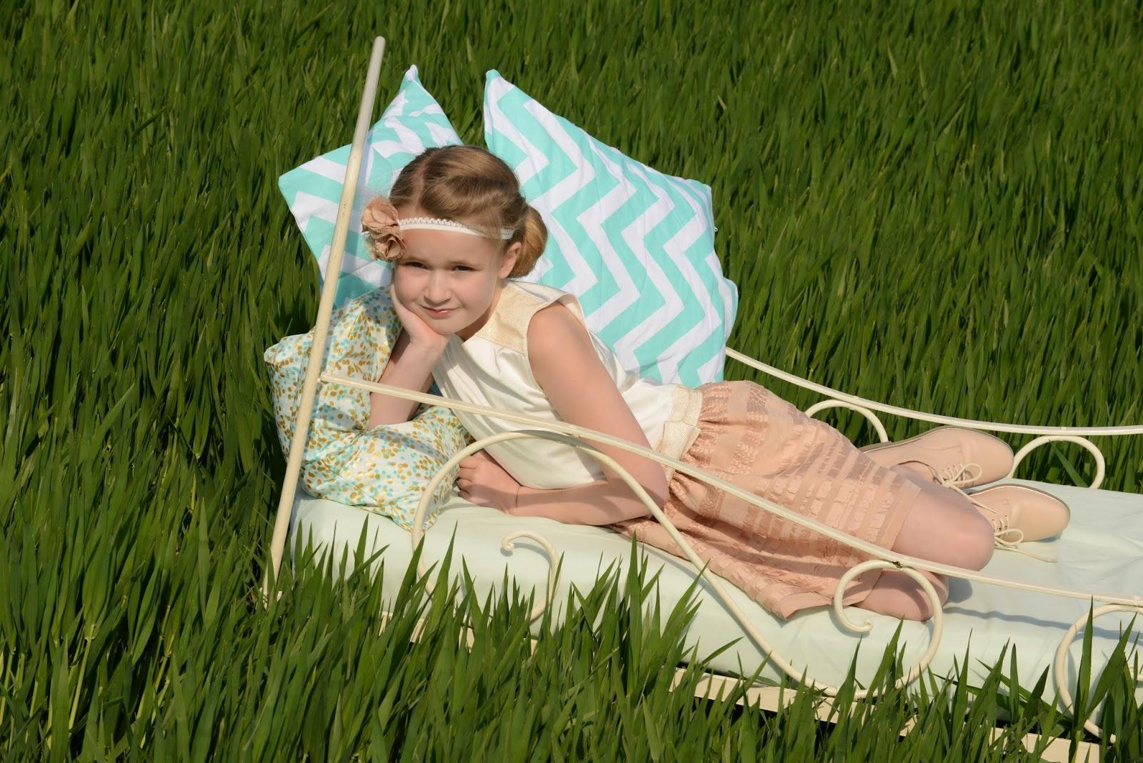 DIY communiejurk communiekleed naaien sewing SVDHZ stof voor durf het zelfers