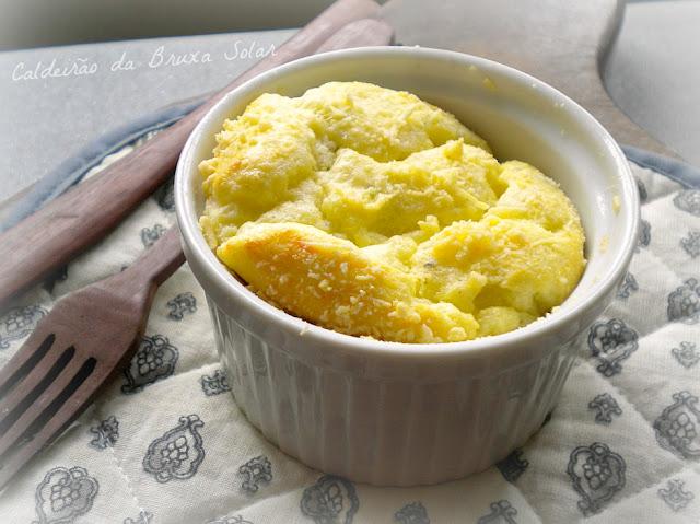 Suflê de queijos