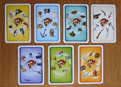 Alles Kanone! - The 7 Topic cards