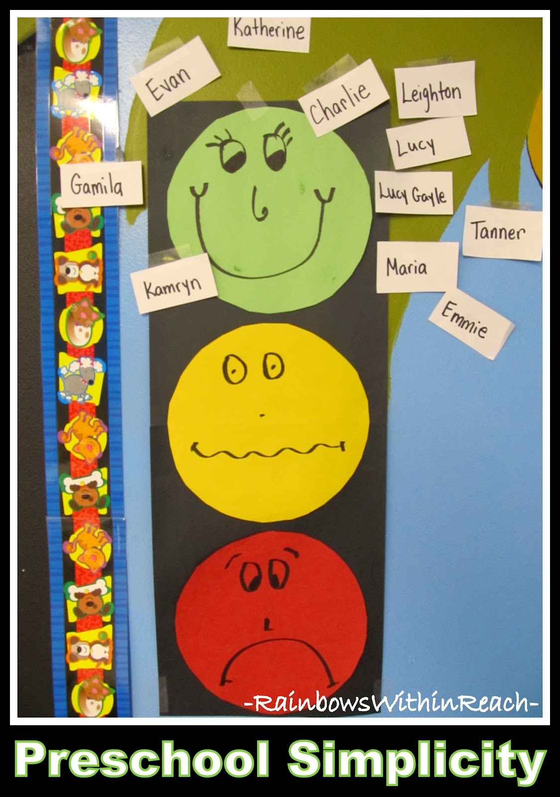 preschool behavior plan behavior charts roundup drseussprojects 611