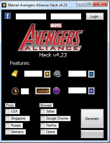 Marvel Avengers Alliance Hack v4.33 – July 2013 | Computer Hacking