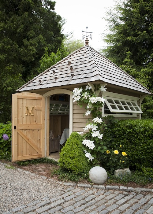 Lady anne 39 s cottage more charming garden sheds for Garden pool sheds