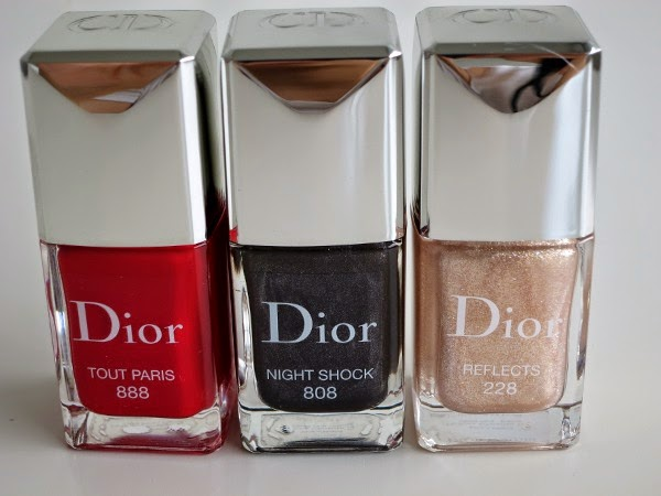 Dior Timeless Colour Icons Pre-Fall 2014 Collection gel effect nail lacquers
