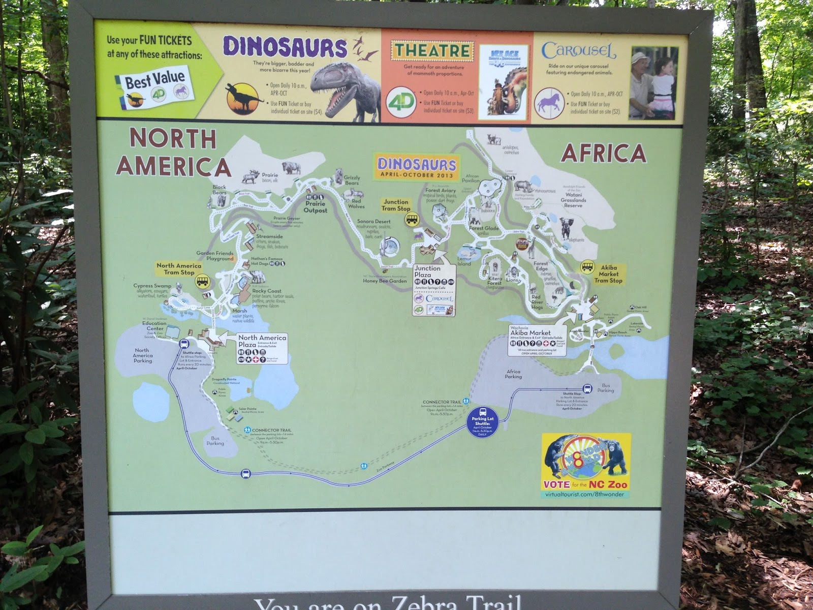 Gallery For Gt North Carolina Zoo Map