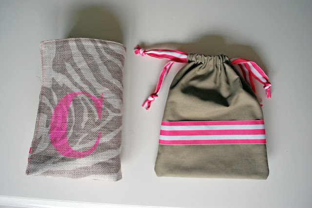 recycling ideas: change o' clothes bag tutorial