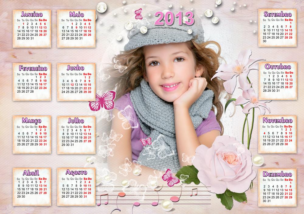 Templates PSD   Calendarios 2013