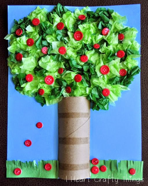 http://www.iheartcraftythings.com/2012/09/apple-tree-craft.html