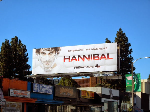 Hannibal season 2 NBC billboard