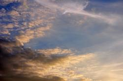 Wolkensonne...