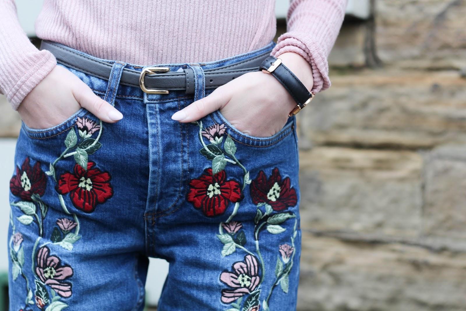 Расшить джинсы бусинами своими руками