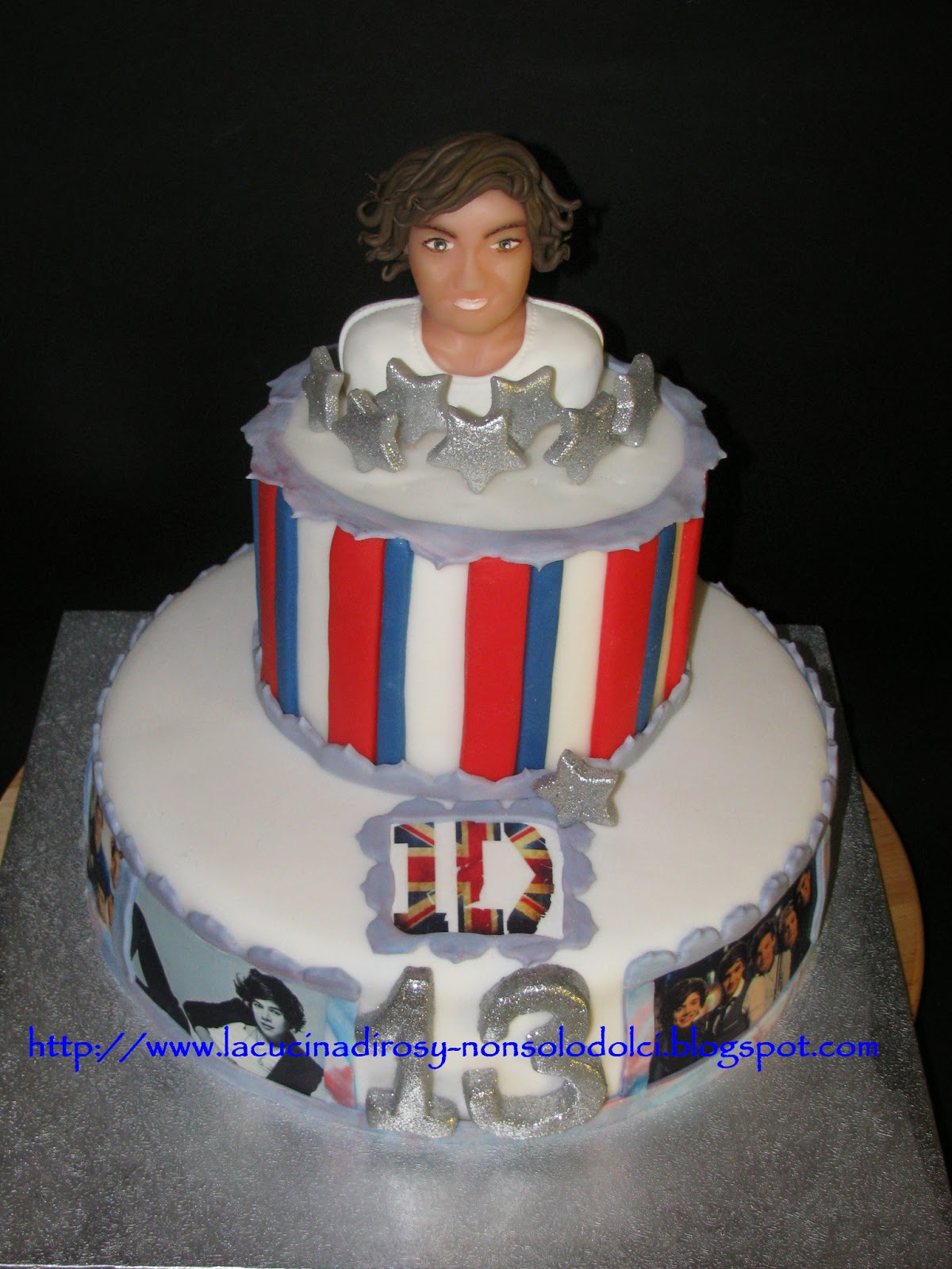 Le torte decorate di rosy torta one direction for Decorazioni torte ladybug