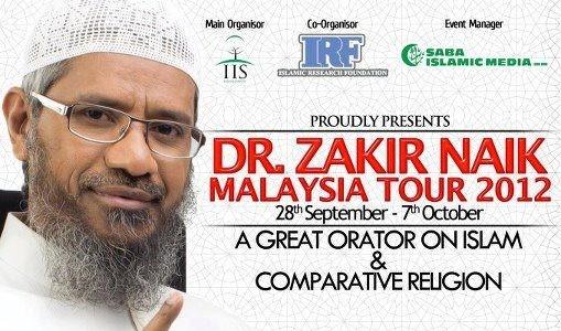 Biodata Dr. Zakir Bin Naik