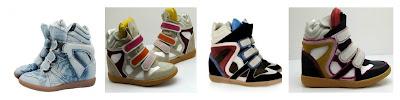 Isabel Marant Bekett sneaker con zeppa