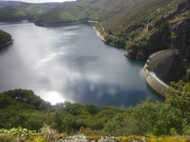 Embalse del Eume en A Capela Fragas do Eume