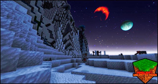 A New World texture pack planets
