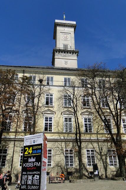 Lviv City Tower, West Ukraine