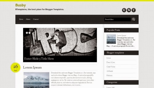 busby-blogger-template