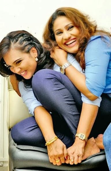 Sri Lankan Lesbians - Gayathri Dias Nayana Kuamari hot