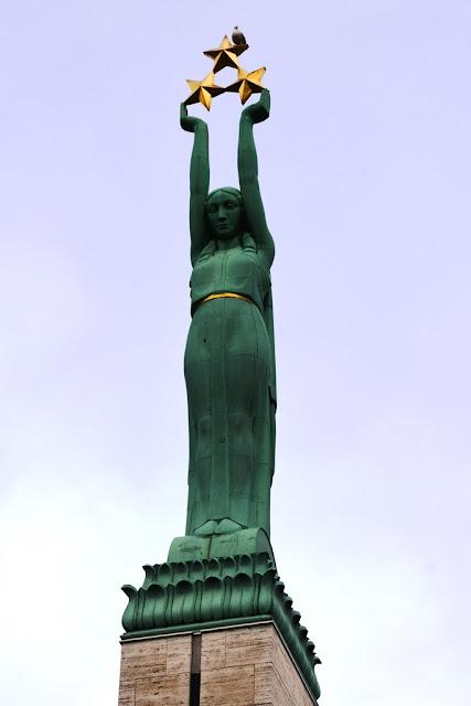 Freedom Monument Riga Milda