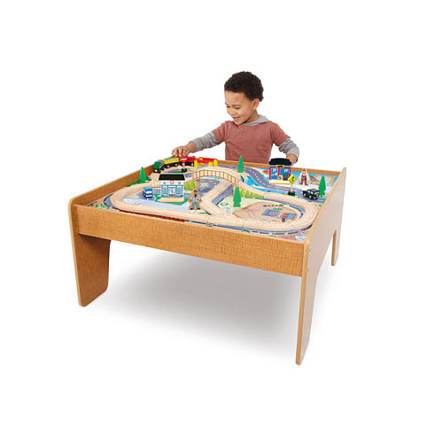 Toys R Us *finally* has the Imaginarium Train Table back in stock! This set comes not only with the table but also includes 3 trains 2 vehicles ...  sc 1 st  NorCal Coupon Gal & Toys R Us: Imaginarium Train Table 45 Piece Set Just $40 Or 50% Off ...