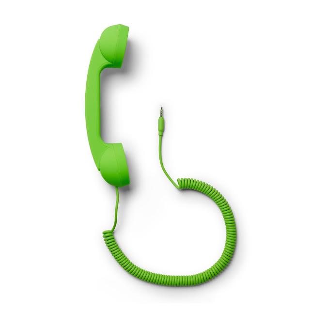 decoración teléfono verde C Wonder