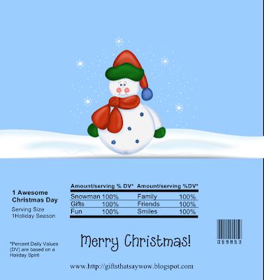 popcorn snowman wrapper poem | just b.CAUSE