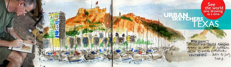 urban sketchers texas