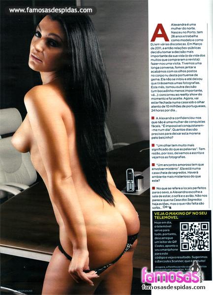 Alexandra Ferreira - Casa do Segredos 3 - Penthouse Portugal