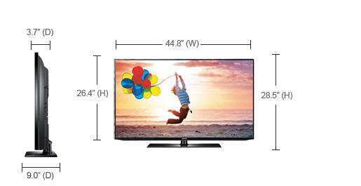 samsung eh5000 the cheapest samsung led hdtv led tv usa. Black Bedroom Furniture Sets. Home Design Ideas