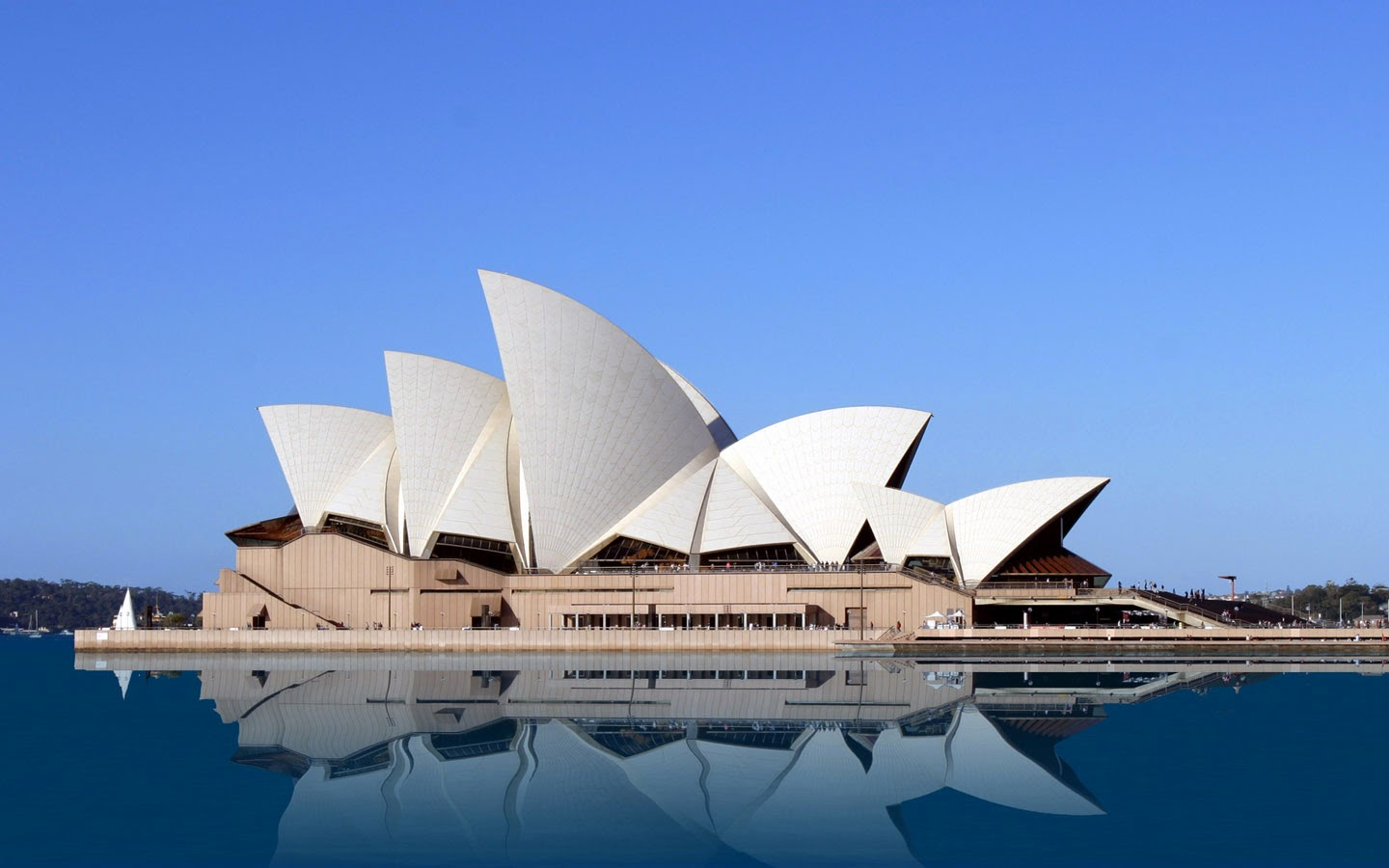 The Sydney Opera House, Sydney, New South Wales, Australia.