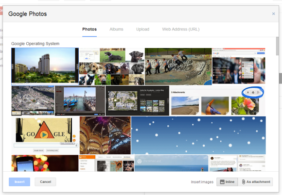 how to delete photos from google photo album