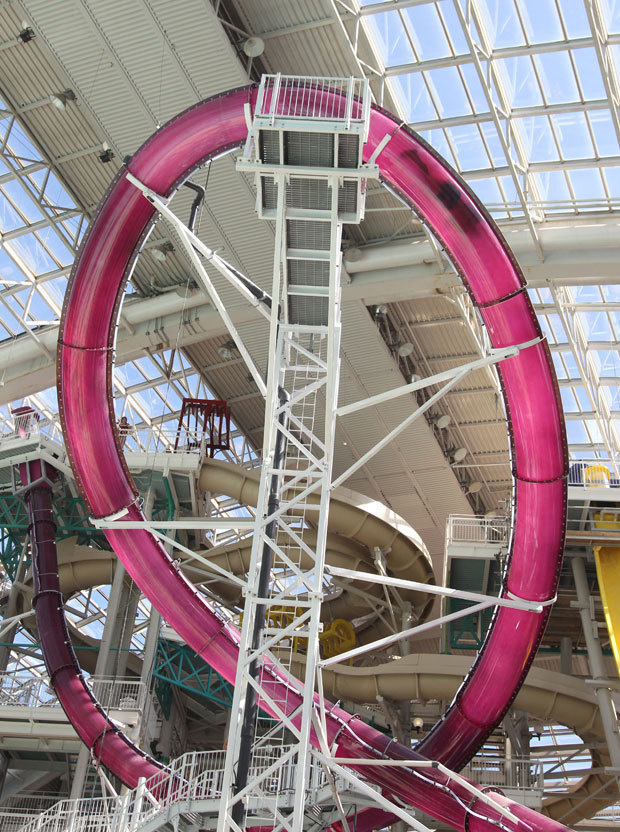 #13. The Cyclone - World Waterpark, Canada - The World's 25 Scariest Waterslides… I'm Surprised #6 Is Even Legal.