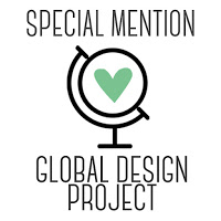 I was a Special Mention at the Global Design Project!