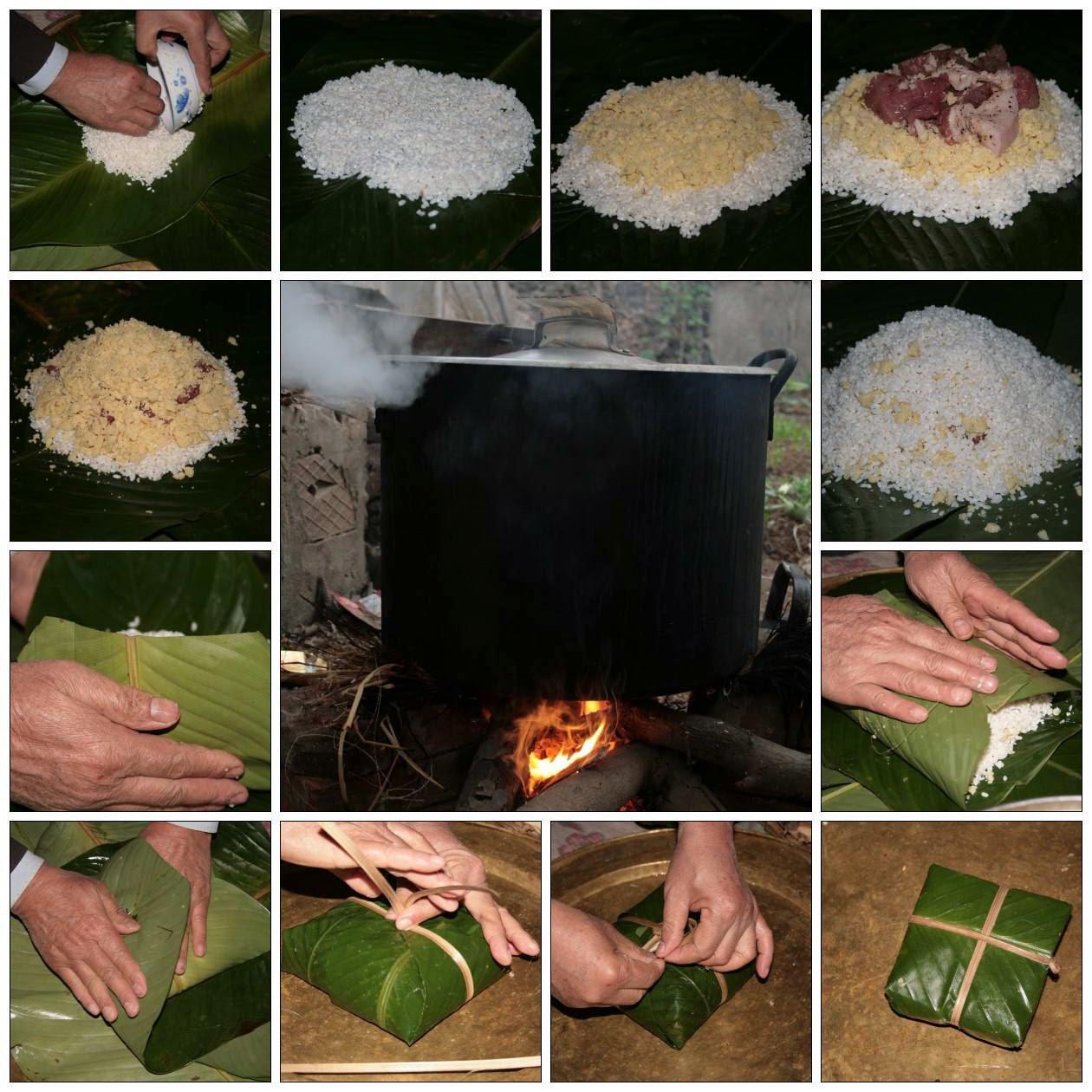 Vietnamese Rice Recipes - Bánh Chưng