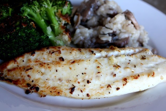 Barefeet In The Kitchen: Lemon and Garlic Broiled Tilapia