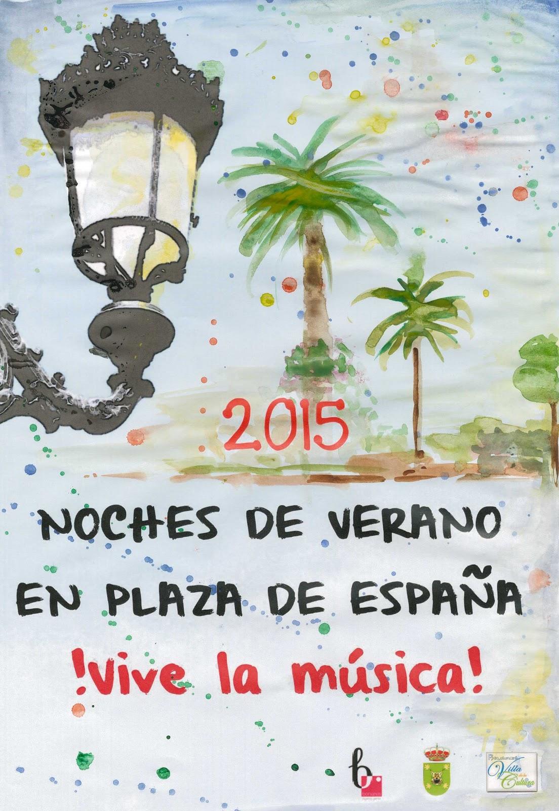 NOCHES DE VERANO PLAZA ESPAÑA 2015