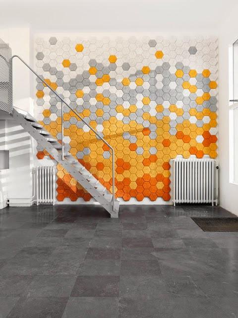 Hexagonal speckles of fun