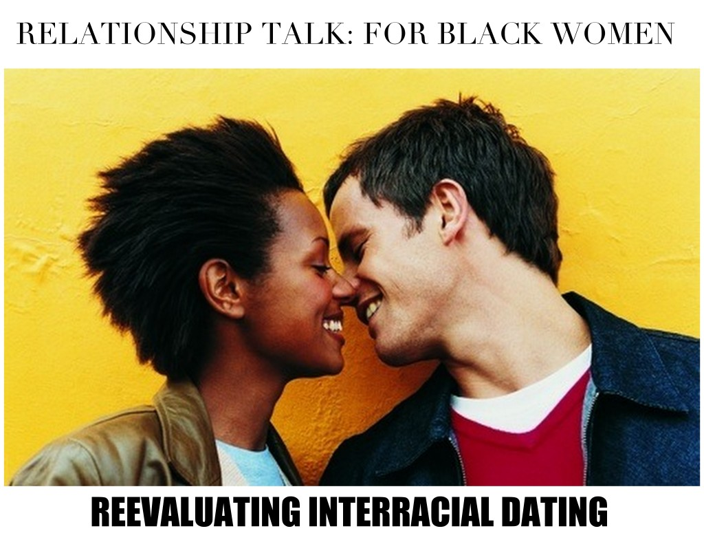 Man Woman Interracial Couples Black and White