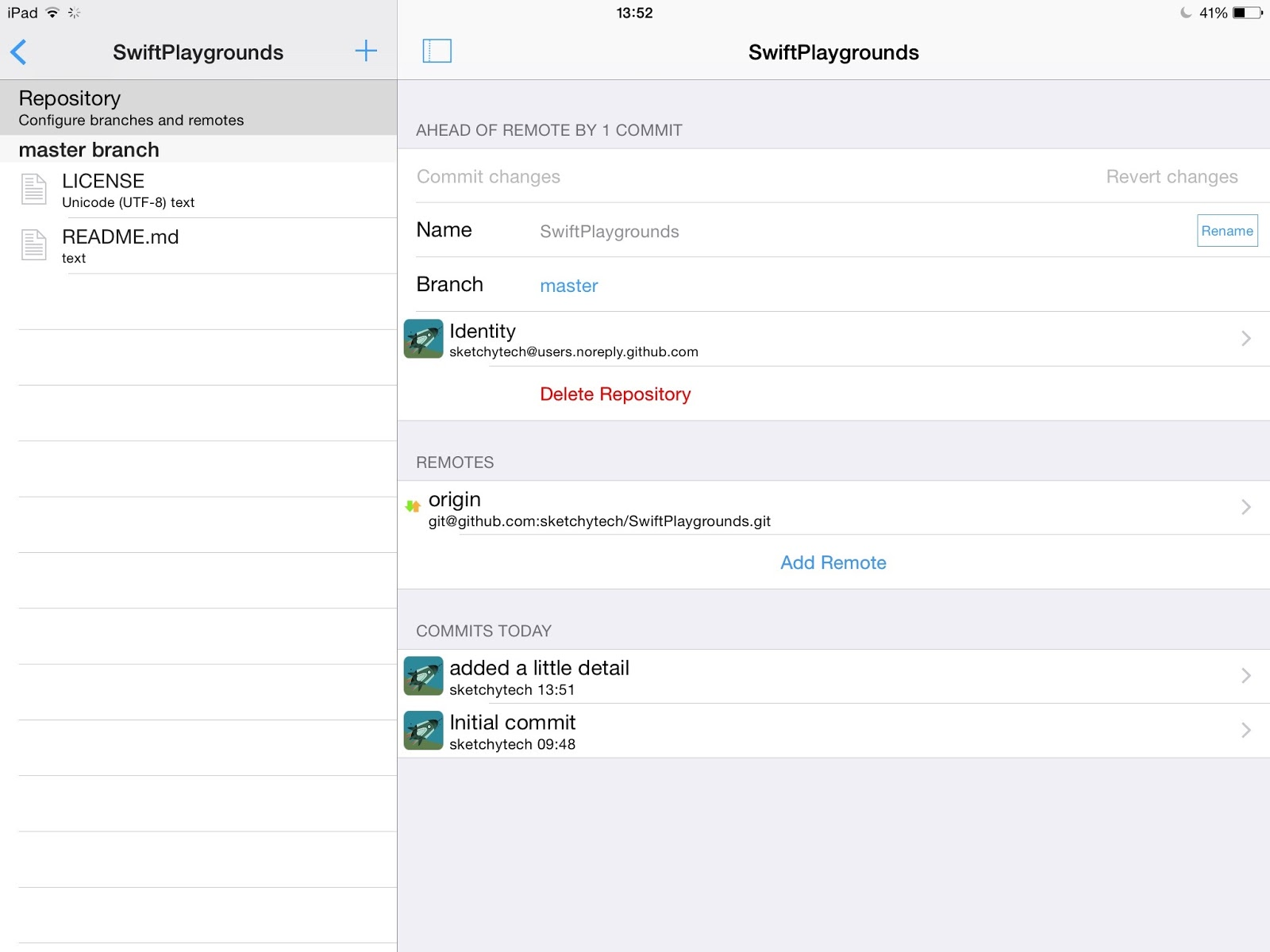 GitHub on your iPad: Working Copy App Review | sketchyTech