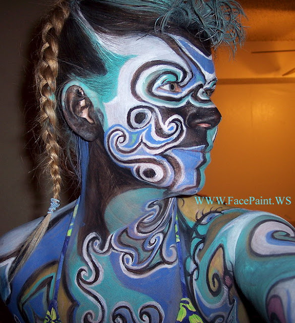 Abstract Art Bodies The Art of Body Painti...