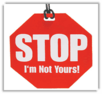 Stop - Not Yours