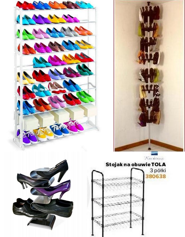 Przechowywanie butów, organizacja butów, shoes storage ideas