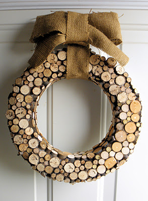 SNS 110 - rustic / natural / burlap Christmas decorating - Funky ...