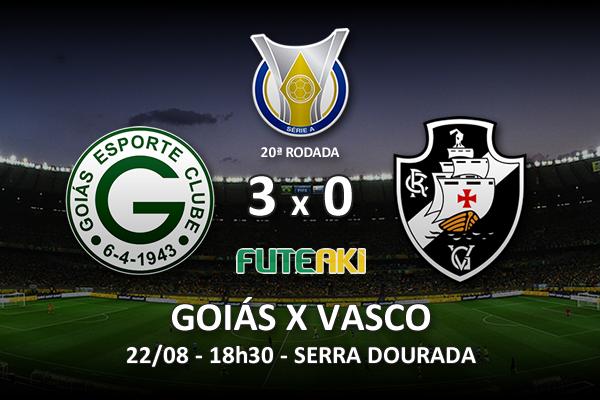 Veja o resumo da partida com os gols e os melhores momentos de Goiás 2x0 Vasco pela 20ª rodada do Brasileirão 2015.